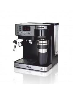 Espresso and filter coffee...